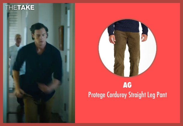 AG brown pant from The Choice seen with Benjamin Walker (Travis Parker)
