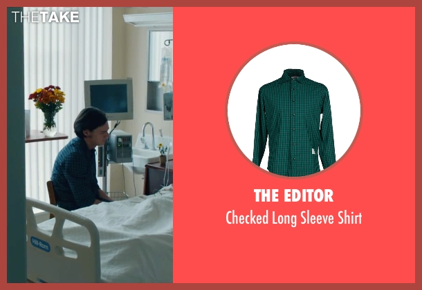The Editor green shirt from The Choice seen with Benjamin Walker (Travis Parker)