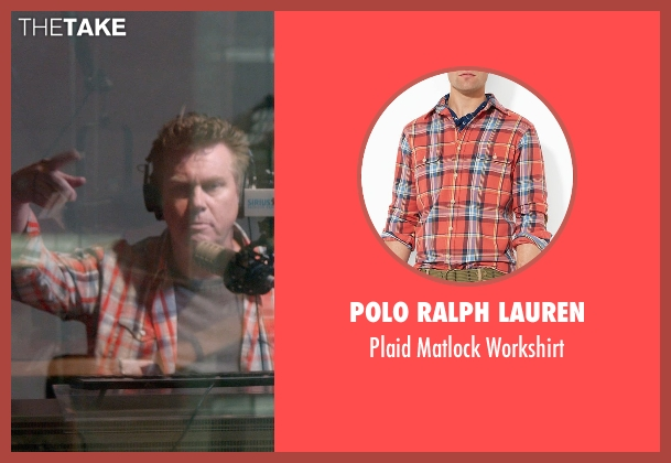 Polo Ralph Lauren orange workshirt from Top Five seen with Benjamin Wood (Sirius XM DJ)