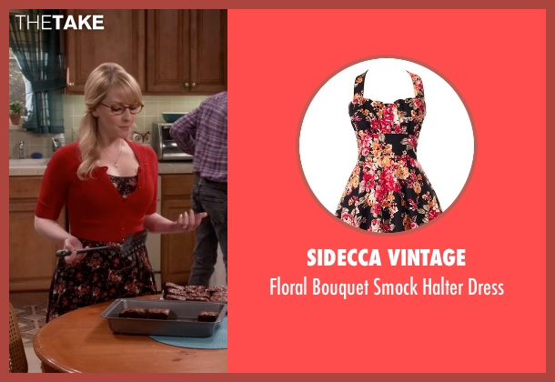 Sidecca Vintage black dress from The Big Bang Theory seen with Bernadette Rostenkowski (Melissa Rauch)