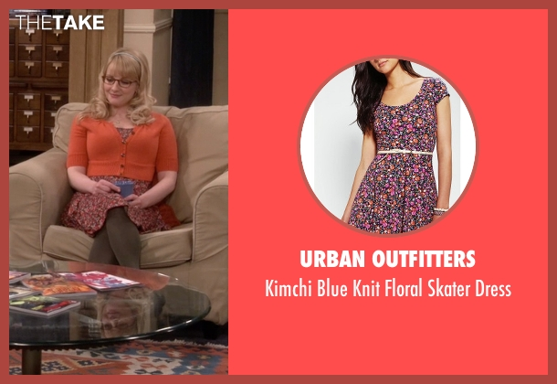 Urban Outfitters purple dress from The Big Bang Theory seen with Bernadette Rostenkowski (Melissa Rauch)