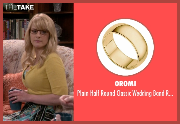 Oromi yellow ring from The Big Bang Theory seen with Bernadette Rostenkowski (Melissa Rauch)