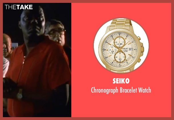 Seiko gold watch from Ocean's Eleven seen with Bernie Mac (Frank Catton)