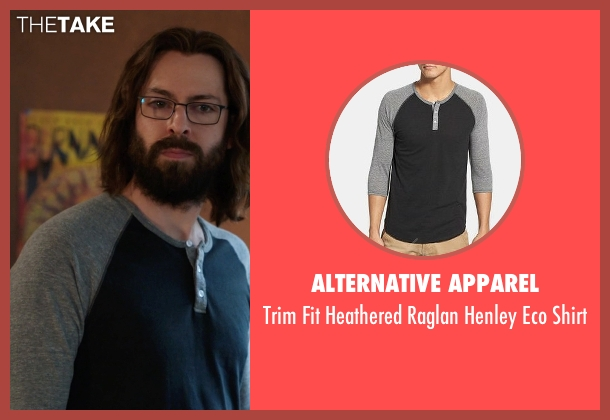 Alternative Apparel black shirt from Silicon Valley seen with Bertram Gilfoyle (Martin Starr)