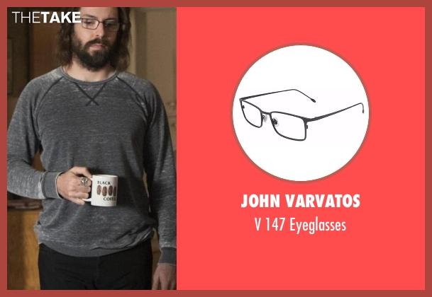 John Varvatos eyeglasses from Silicon Valley seen with Bertram Gilfoyle (Martin Starr)