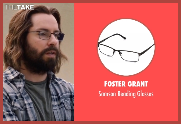 Foster Grant glasses from Silicon Valley seen with Bertram Gilfoyle (Martin Starr)
