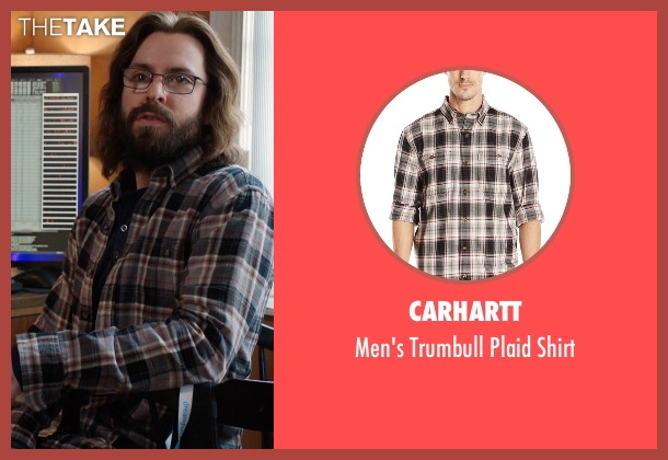 Carhartt gray shirt from Silicon Valley seen with Bertram Gilfoyle (Martin Starr)