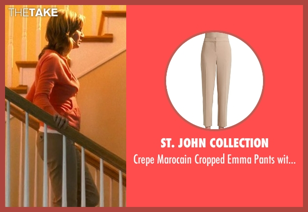 St. John Collection brown pockets from Crazy, Stupid, Love. seen with Beth Littleford (Claire)