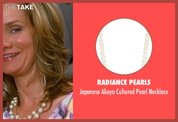 Radiance Pearls white necklace from Crazy, Stupid, Love. seen with Beth Littleford (Claire)