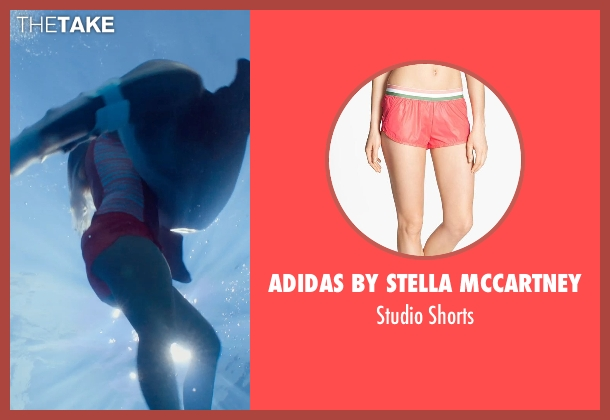 Adidas by Stella McCartney pink shorts from Dolphin Tale 2 seen with Bethany Hamilton