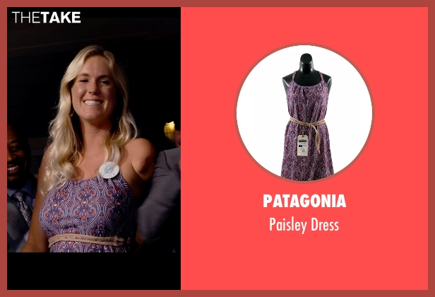 Patagonia purple dress from Dolphin Tale 2 seen with Bethany Hamilton