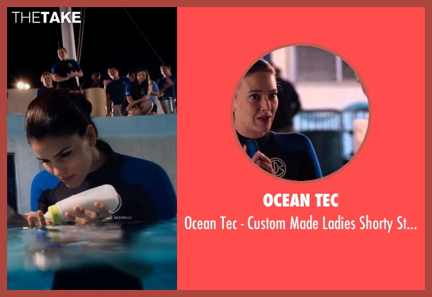Ocean Tec wetsuit from Dolphin Tale 2 seen with Betsy Landin (Kat)