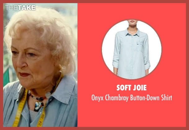 Soft Joie blue shirt from The Proposal seen with Betty White (Grandma Annie)