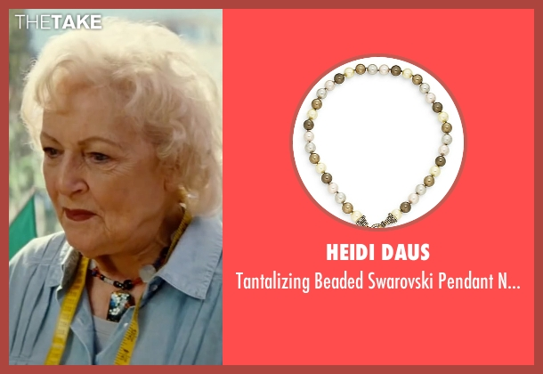 Heidi Daus necklace from The Proposal seen with Betty White (Grandma Annie)