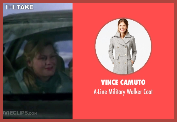 Vince Camuto gray coat from Christmas Vacation seen with Beverly D'Angelo (Ellen)
