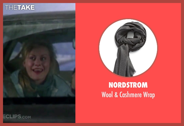Nordstrom gray wrap from Christmas Vacation seen with Beverly D'Angelo (Ellen)