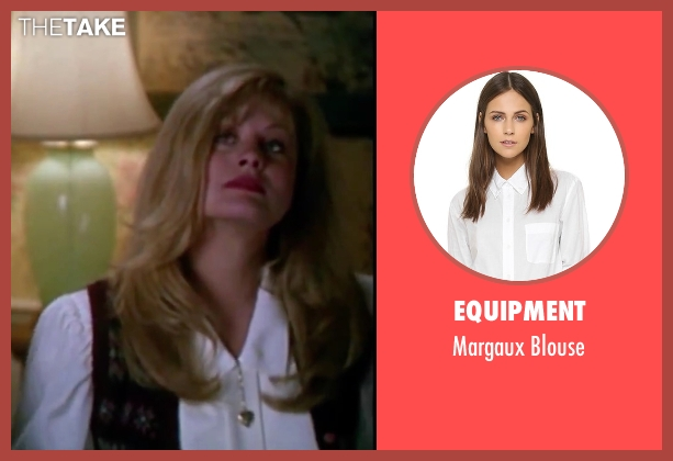 Equipment white blouse from Christmas Vacation seen with Beverly D'Angelo (Ellen)