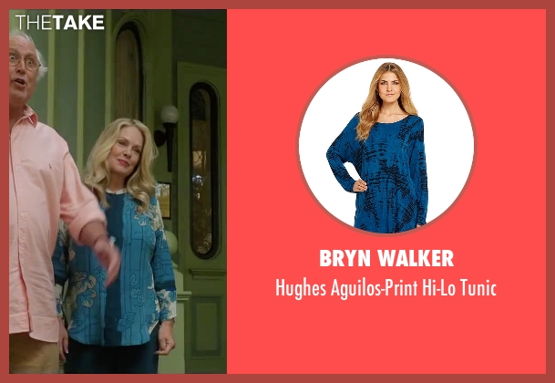 Bryn Walker blue tunic from Vacation seen with Beverly D'Angelo (Ellen Griswold)