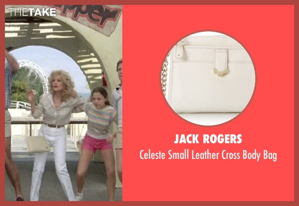 Jack Rogers white bag from Vacation seen with Beverly D'Angelo (Ellen Griswold)