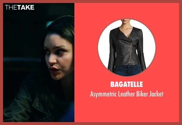 Bagatelle black jacket from Ouija seen with Bianca A. Santos (Isabelle)