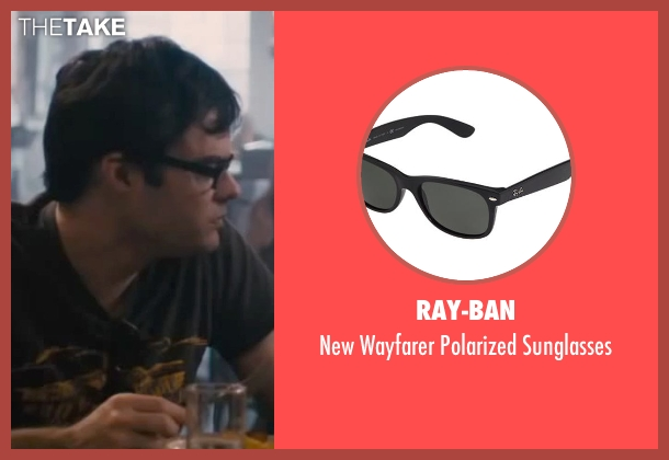 Ray-Ban black sunglasses from The Disappearance of Eleanor Rigby seen with Bill Hader (Stuart)