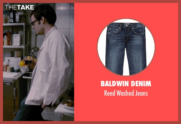 Baldwin Denim blue jeans from The Disappearance of Eleanor Rigby seen with Bill Hader (Stuart)