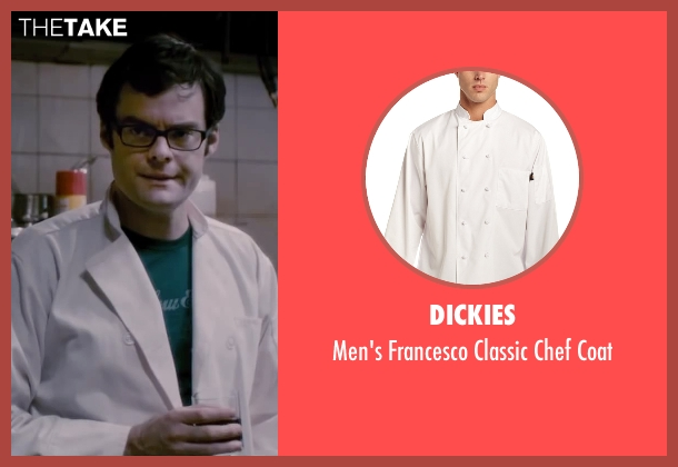 Dickies white coat from The Disappearance of Eleanor Rigby seen with Bill Hader (Stuart)