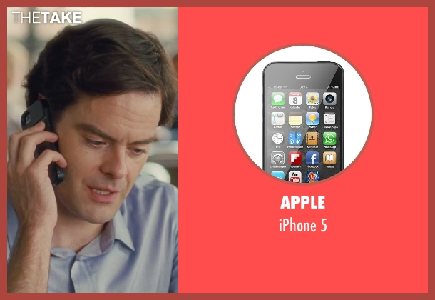 Apple 5 from Trainwreck seen with Bill Hader (Aaron)