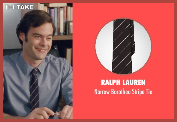 Ralph Lauren black tie from Trainwreck seen with Bill Hader (Aaron)
