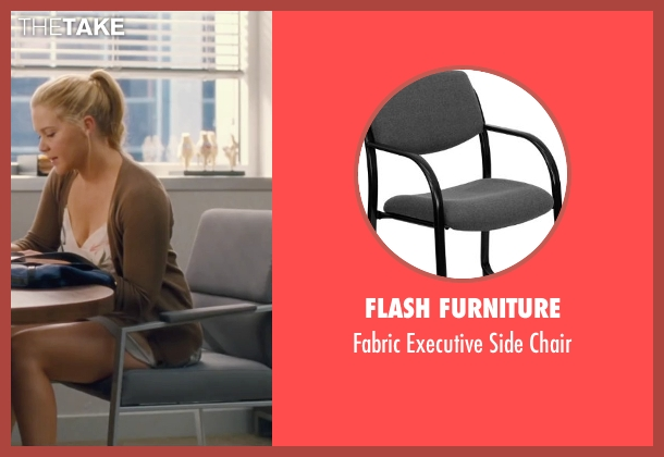 Flash Furniture chair from Trainwreck seen with Bill Hader (Aaron)
