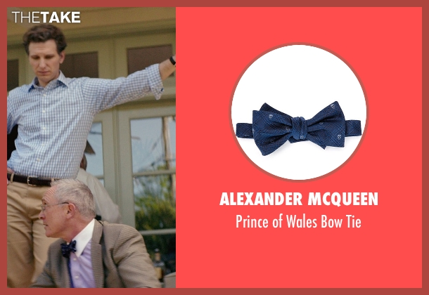 Alexander McQueen	 blue tie from The Best of Me seen with Bill Martin Williams (Uncle)