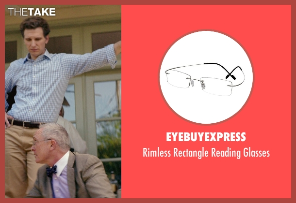 EyeBuyExpress glasses from The Best of Me seen with Bill Martin Williams (Uncle)