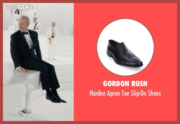 Gordon Rush black shoes from A Very Murray Christmas seen with Bill Murray