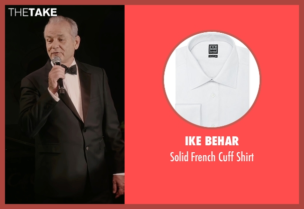 Ike Behar white shirt from A Very Murray Christmas seen with Bill Murray