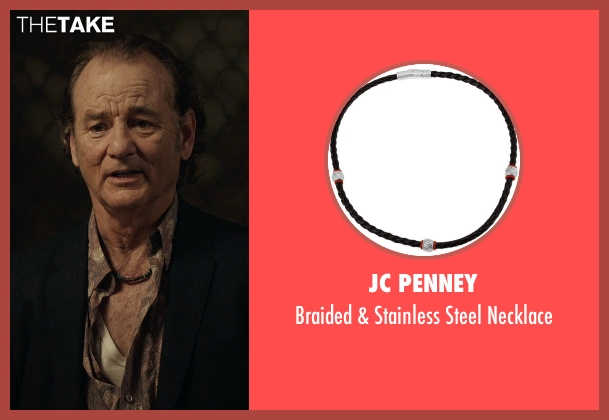 JC Penney black necklace from Rock The Kasbah seen with Bill Murray (Richie Lanz)
