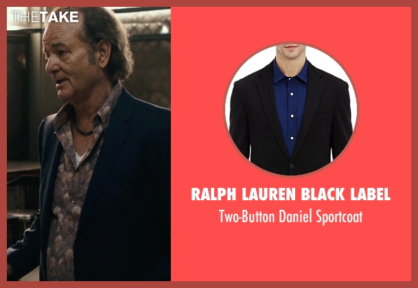 Ralph Lauren Black Label black sportcoat from Rock The Kasbah seen with Bill Murray (Unknown Character)