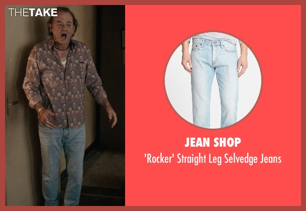 Jean Shop blue jeans from Rock The Kasbah seen with Bill Murray (Richie Lanz)