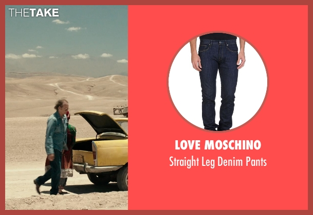 Love Moschino blue pants from Rock The Kasbah seen with Bill Murray (Richie Lanz)