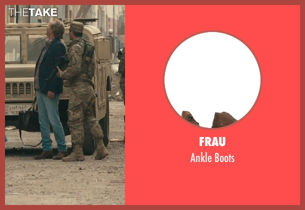Frau brown boots from Rock The Kasbah seen with Bill Murray (Richie Lanz)
