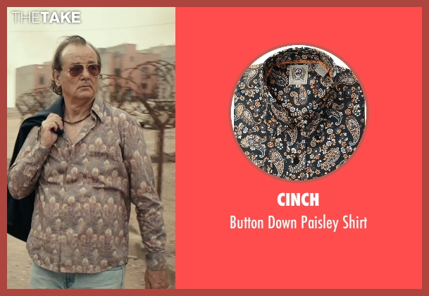Cinch brown shirt from Rock The Kasbah seen with Bill Murray (Richie Lanz)