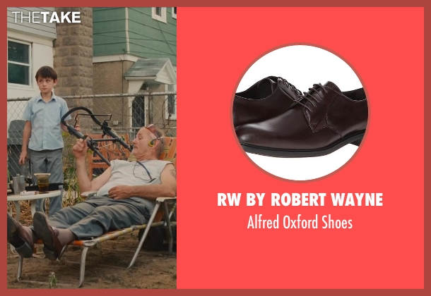 RW by Robert Wayne brown shoes from St. Vincent seen with Bill Murray (St. Vincent de Van Nuys)