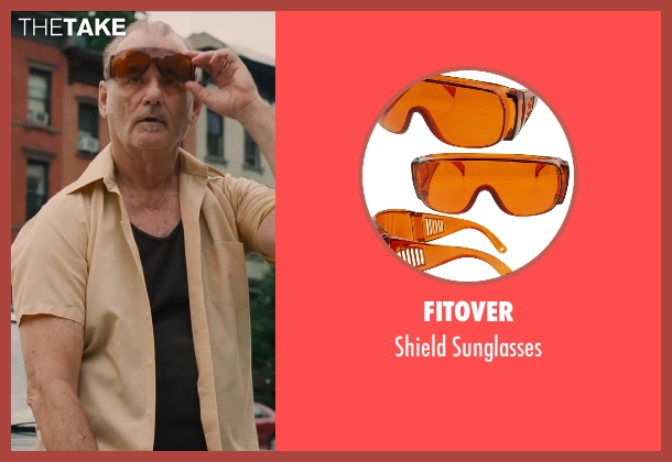 Fitover brown sunglasses from St. Vincent seen with Bill Murray (St. Vincent de Van Nuys)
