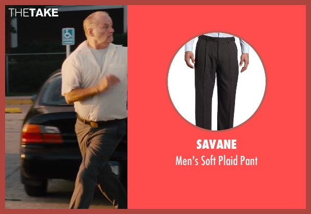 Savane gray pant from St. Vincent seen with Bill Murray (St. Vincent de Van Nuys)