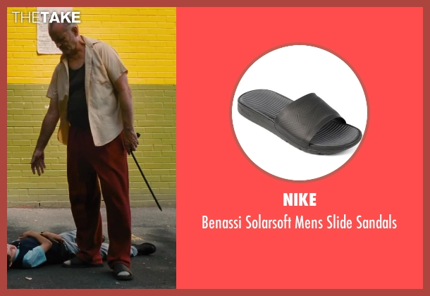 Nike gray sandals from St. Vincent seen with Bill Murray (St. Vincent de Van Nuys)