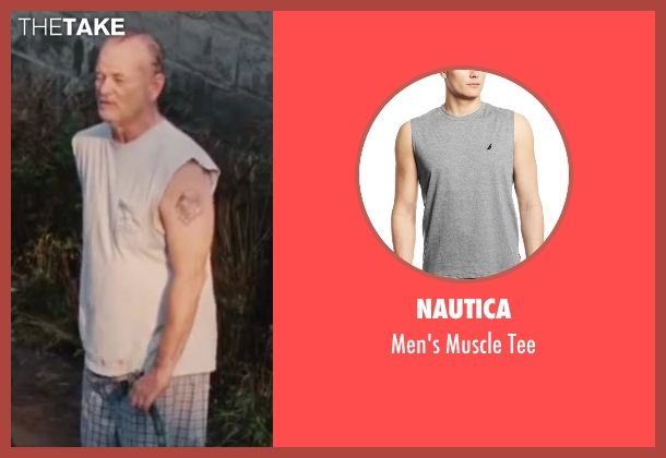 Nautica gray tee from St. Vincent seen with Bill Murray (St. Vincent de Van Nuys)