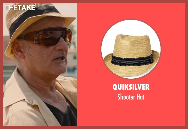 Quiksilver hat from St. Vincent seen with Bill Murray (St. Vincent de Van Nuys)