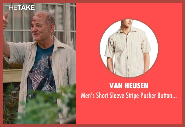 Van Heusen shirt from St. Vincent seen with Bill Murray (St. Vincent de Van Nuys)