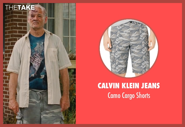 Calvin Klein Jeans shorts from St. Vincent seen with Bill Murray (St. Vincent de Van Nuys)