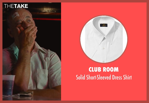 Club Room white shirt from St. Vincent seen with Bill Murray (St. Vincent de Van Nuys)