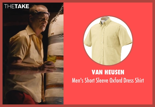 Van Heusen yellow shirt from St. Vincent seen with Bill Murray (St. Vincent de Van Nuys)